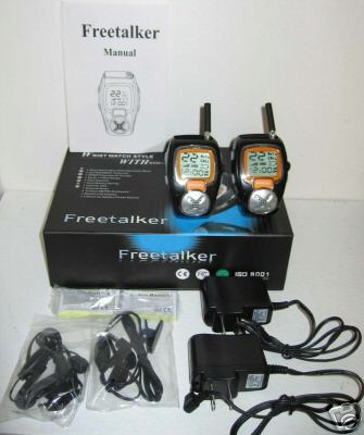 Walkie Talkie Wrist Watch FRS Communication Radios